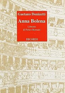 Anna Bolena Libretto