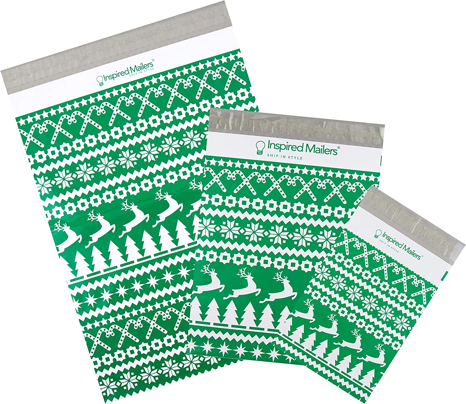 Inspired Mailers - Holiday Poly Variety Bombing new work Pack 30 E Translated of 10