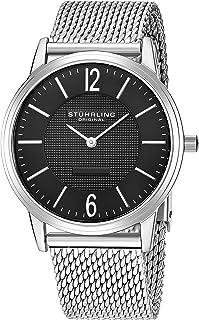 Stuhrling Original Men's 122.33111 Classic Ascot Somerset Elite Swiss Quartz Watch with Mesh Bracelet