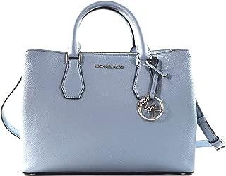 Camille Leather Large Satchel Convertible Crossbody Bag Purse Handbag