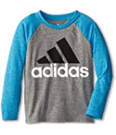 adidas Kids - Clima Raglan (Toddler/Little Kids)