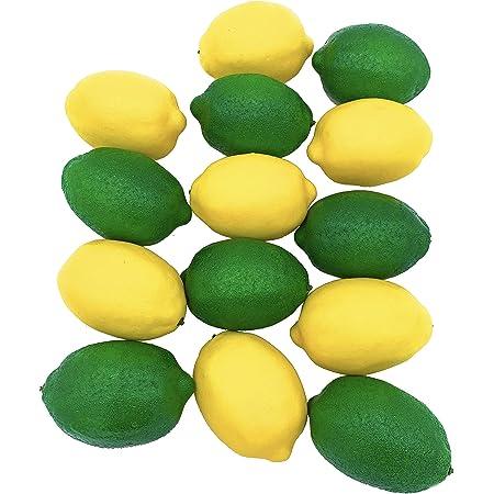 2 Strings Limes Lemon Lifelike Artificial Fake Fruit Imitation Home Decor 52cm