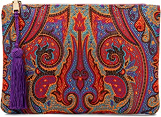 Otto Designer Women's Bohemian Clutch Purse - Multiple Slots Money, Cards, Smartphone - Ultra Slim