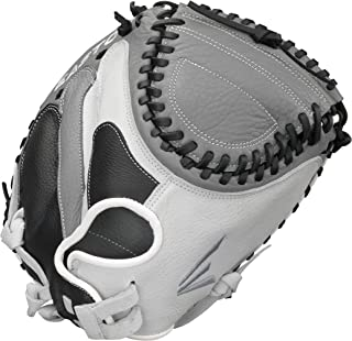 EASTON SLATE Fastpitch Softball Glove Series   2020   Female Athlete Design   Diamond Pro Steer Leather   Super Soft Palm Lining For Comfort + Enhanced Grip   Quantum Closure For Customized Fit
