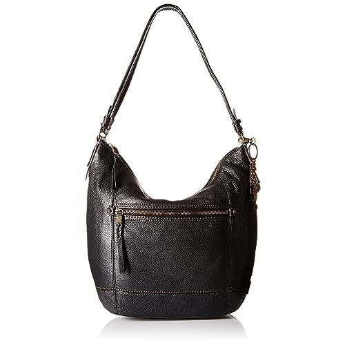 Black Leather Handbags  Amazon.com 0704a76bc0