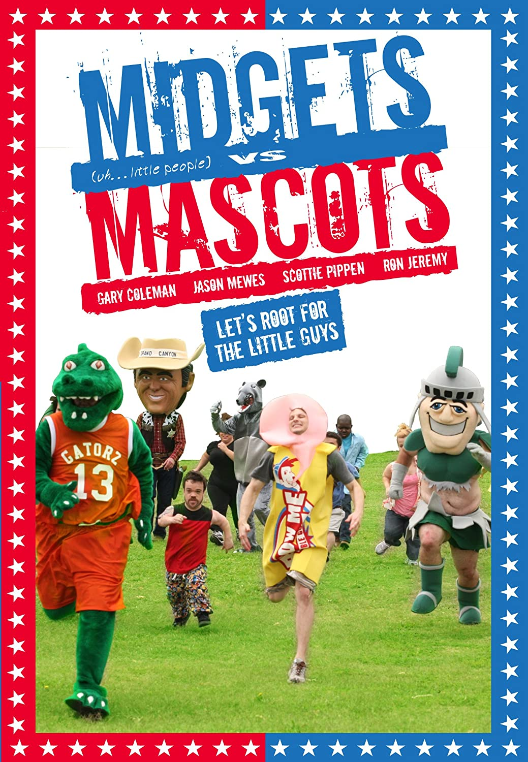 Midgets Gorgeous vs. Special Campaign Unrated Mascots