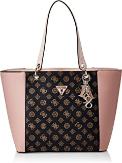Guess Womens Tote Bag, Brown/Blush - SE669123