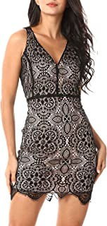 Bodycon Cocktail Party Dress Sexy Open Back Strappy Art...