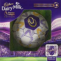 cadbury Dairy Milk Hollow Chocolate Football Premier League Edition, 256 g