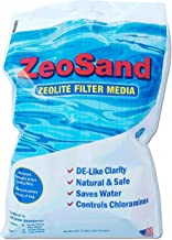 Zeo, Inc ZeoSand-50 ZeoSand Swimming Pool Sand Replacement, Alternative Filter Media, 50 P, White