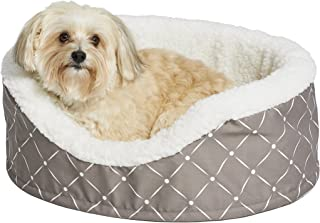 """Midwest Homes for Pets CU25MRD""""Couture"""" Orthopedic Cradle Pet Bed for Dogs & Cats, Small"""