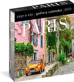 Paris Page-A-Day Gallery Calendar 2020