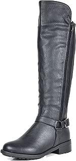 DREAM PAIRS Women's Sunrider Knee High Winter Military Combat Boots