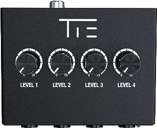 TIE Studio 4-kanałowy wzmacniacz słuchawkowy