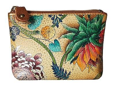 Anuschka Handbags Coin Pouch 1031 (Caribbean Garden) Handbags
