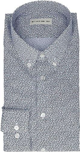 Etro Homme 1K9646052200 Bleu Coton Chemise