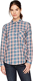 William Rast Women's Dakota Convertible Button Front Shirt