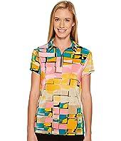 Jamie Sadock - Digi Box Print Short Sleeve Top