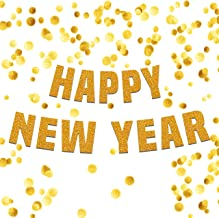 Happy New Year Banner Garland Large