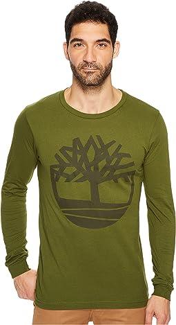 Timberland - Tree Long Sleeve Logo Tee