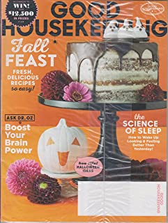 Good Housekeeping October 2017 Fall Feast - Fresh, Delicious Recipes So Easy!