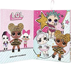 L.O.L. Surprise ! Advent Calendar 2019, LOL Surprise Christmas Calendar, Includes 24 Surprise Fashion Jewellery Gifts Bracelet Necklace with 22 Charms With Diva Queen Bee, Christmas Calendars For Kids