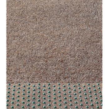 dunkel braun 400x270 cm Rasenteppich Kunstrasen Comfort
