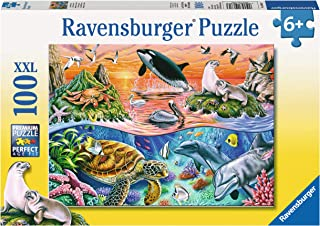 Ravensburger 10681 Beautiful Ocean Puzzle 100pc,Children's Puzzles