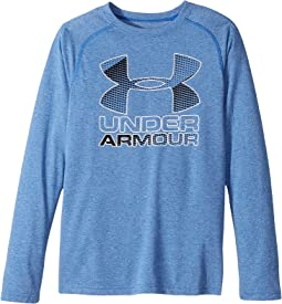 Under Armour Kids - Hybrid Big Logo Long Sleeve Tee (Big Kids)