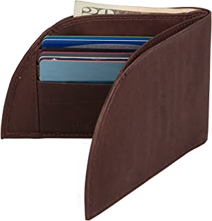 Men's Leather Front-Pocket Wallet (Brown)
