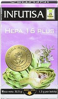 INFUTISA HEPA 16 PLUS Infusion 25bags, Black, Standard