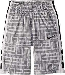 Dry Elite Stripe Print Basketball Short (Little Kids/Big Kids)