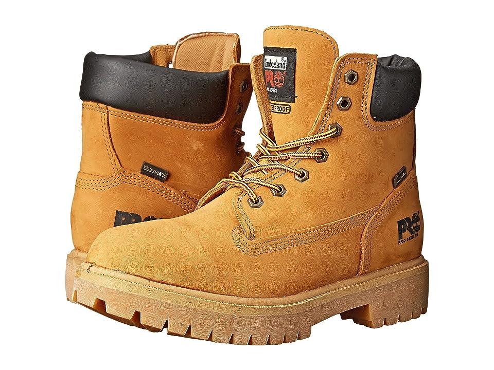 Timberland PRO Direct Attach 6 Soft Toe (Wheat Nubuck Leather) Men