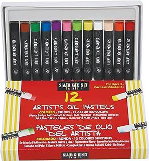 Sargent Art 22-2017 12-Count Oil Pastels