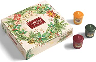 Yankee Candle Gift Set | 12 Christmas Scented Votive Candles | Magical Christmas Morning Collection