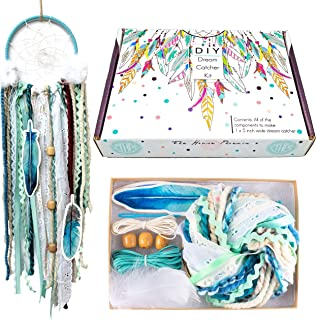 The House Phoenix DIY Dream Catcher Kit Craft Project Make Your Own Art for Kids & Adults 5