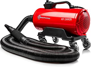 Adam's Air Cannon Car Dryer - High Powered Filtered Car Wash Blower   Dry Before Car Cleaning, Car Detailing, Car Wax, or Ceramic Coating   Auto Tool Kit   320 CPM Dual Motor   Gift Boat RV Motorcycle