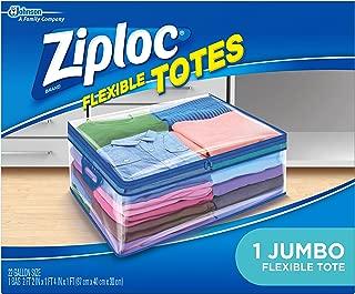 Ziploc Flexible Totes, Jumbo, 1 ct