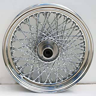 ULTIMA Ulitma 80 Twisted Spoke Front Chrome Wheel for pre 99 Harley FXST/FXDWG 36-349
