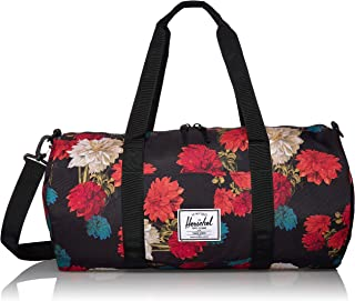 Sutton Mid-Volume Duffel Bag, Vintage Floral Black, One Size