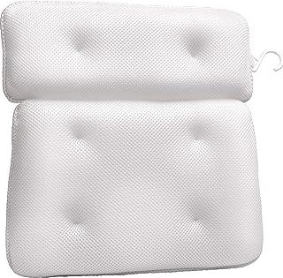 Sierra Concepts Bath Pillow for Tub Bathtub Spa Ergonomic - Neck, Head, Shoulder Pillows Support Cushion Headrest - Luxury...
