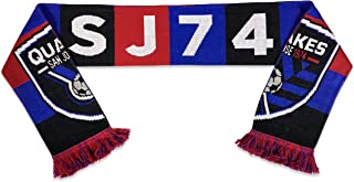 Ruffneck Scarves San Jose Earthquakes Official MLS Scarf - 2 Designs