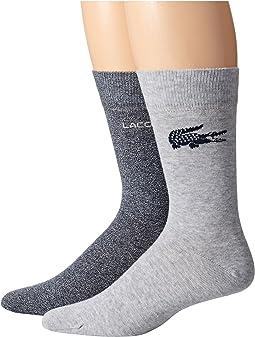 Lacoste - Fine Jacquard Sock
