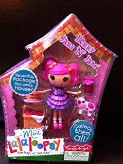 """Lalaloopsy 3 Inch Mini Figure with Accessories- Berry Jars """"N"""" Jam"""