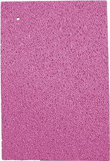日本製 吸水 速乾 セルロース スポンジ 水切りマット 大判 サイズ 45×31cm ピンク
