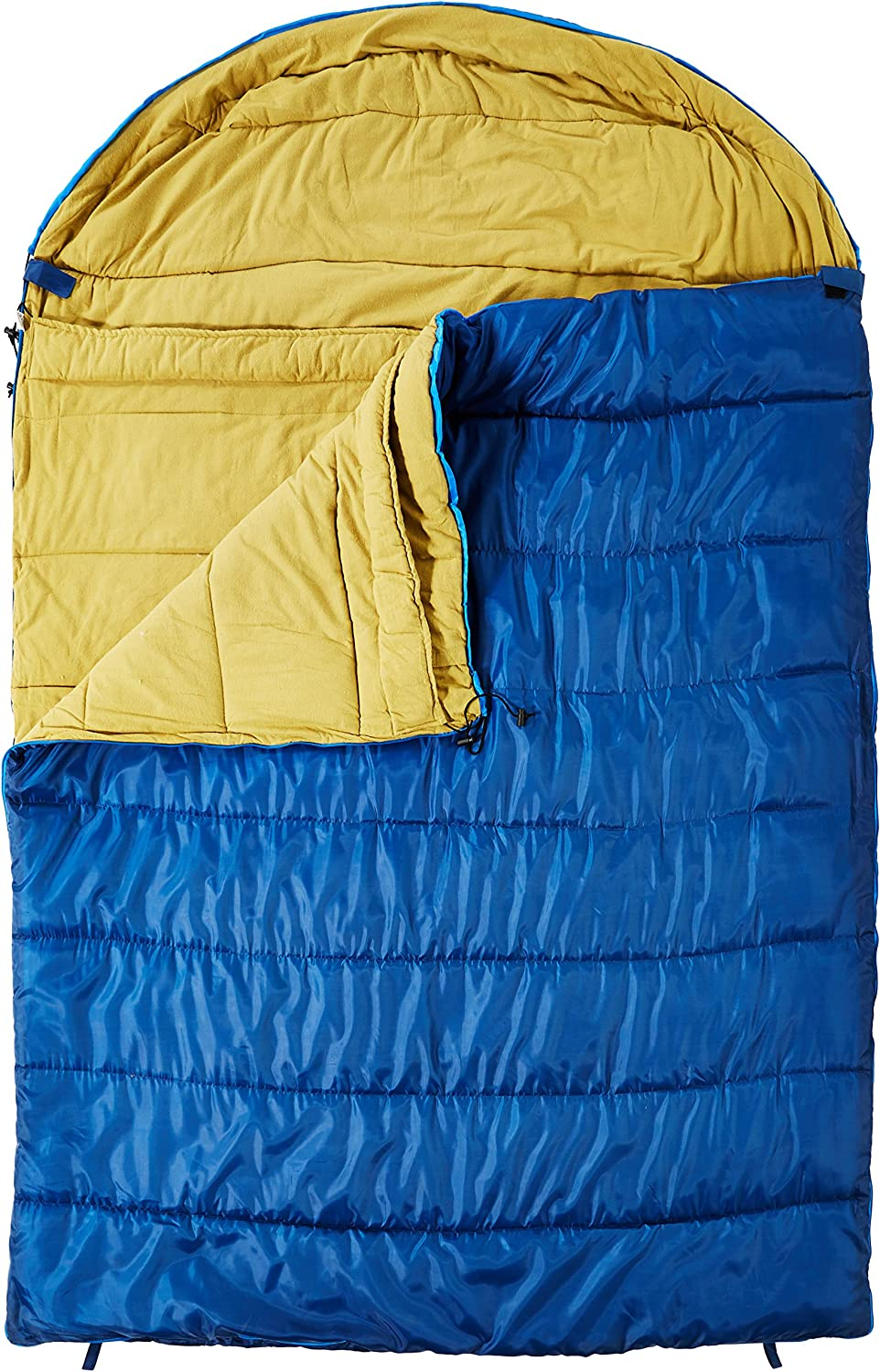 KHOMO GEAR Sleeping Bag - 3 Season Camping for – OFFicial mail order Blue Person 2 Free Shipping Cheap Bargain Gift