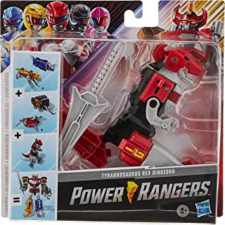 Power Rangers Mighty Morphin Tyrannosaurus Rex Dinozord Toy Red Ranger Zord Action Figure Part of Dino Megazord For Girls ...