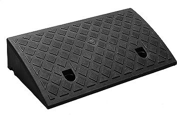 Genubi Industry Curb 斜坡便携式轻质重型塑料门槛斜坡,适用于车道、装载基座、人行道、汽车、滑板车、摩托车