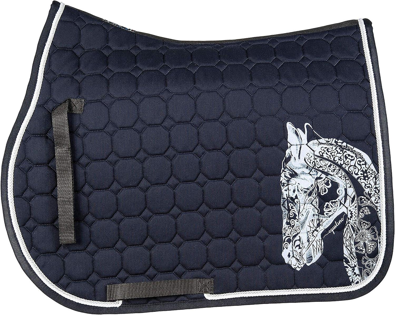 EQUILINE HOLLY HORSE OCTAGONE SADDLE CLOTH ALUMINIUM S S 18