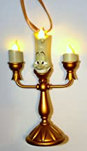 Disney Parks Beauty and the Beast Lumiere Light Up Figurine Ornament NEW
